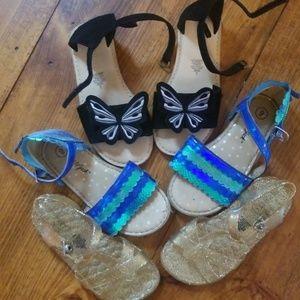Other - Bundle size 9 toddler sandles.